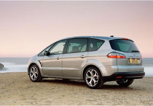 FORD S-MAX I van silver grey tylny lewy