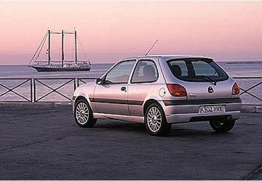 FORD Fiesta IV hatchback silver grey tylny lewy