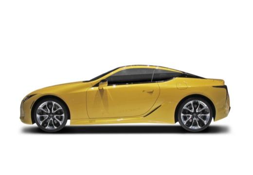 LEXUS LC coupe boczny lewy