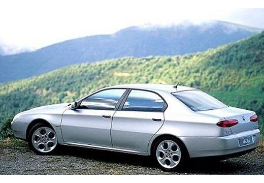 ALFA ROMEO 166 I sedan silver grey tylny lewy
