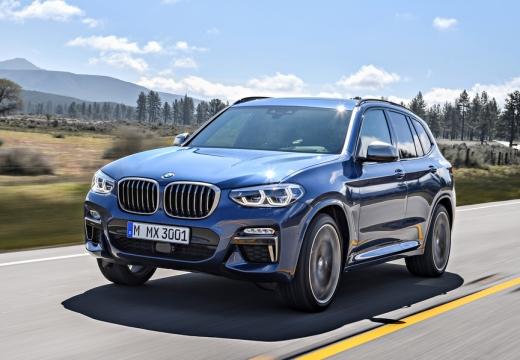 BMW X3 X 3 G01 kombi niebieski jasny przedni lewy