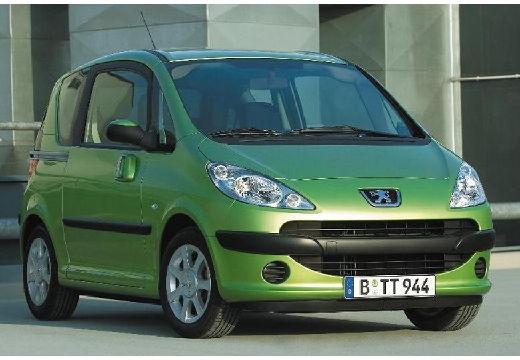 PEUGEOT 1007 hatchback zielony przedni lewy