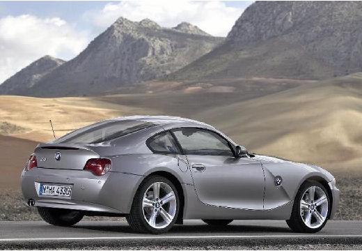 BMW Z4 coupe silver grey tylny prawy