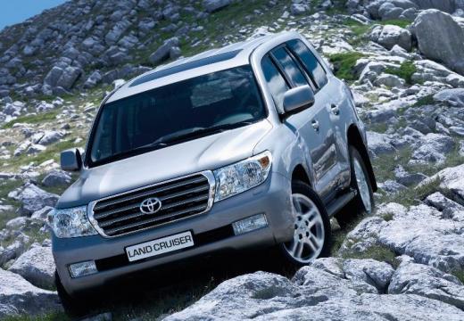 Toyota Land Cruiser V8 I kombi silver grey przedni lewy