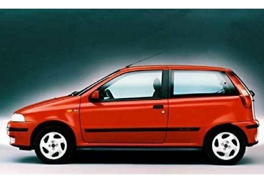 FIAT Punto I hatchback czerwony jasny boczny lewy