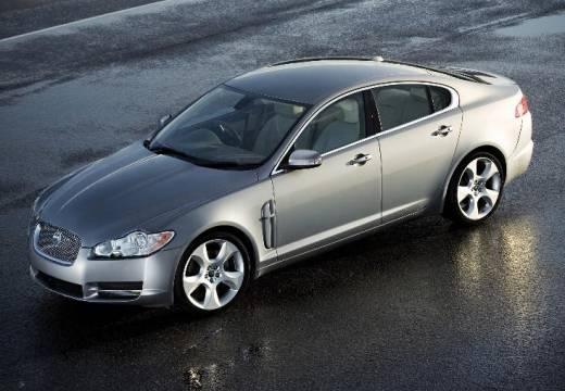 JAGUAR XF I sedan silver grey przedni lewy