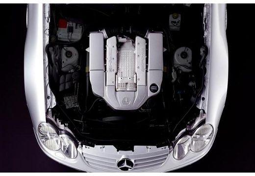 MERCEDES-BENZ Klasa SL SL 230 I roadster silver grey silnik
