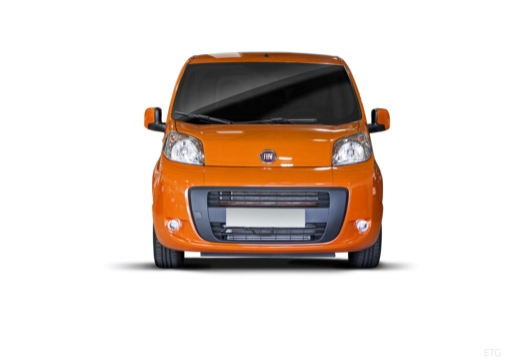 FIAT Fiorino Qubo kombi pomarańczowy przedni
