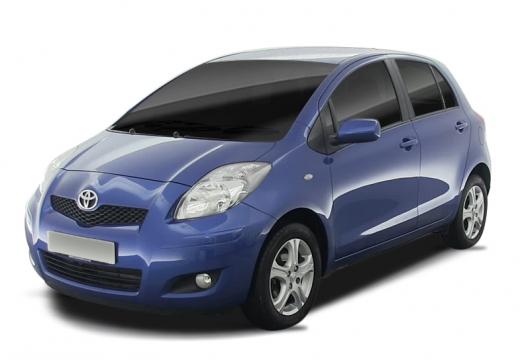 Toyota Yaris IV hatchback niebieski jasny