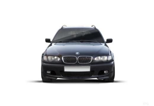 BMW Seria 3 Touring E46/3 kombi czarny przedni