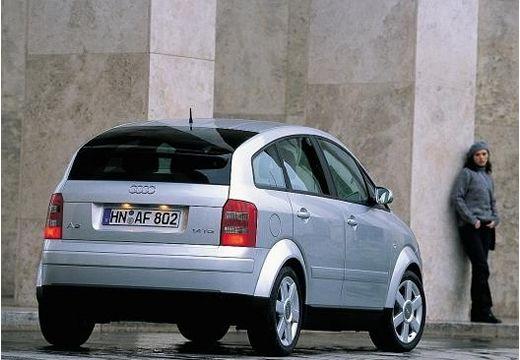 AUDI A2 hatchback silver grey tylny prawy