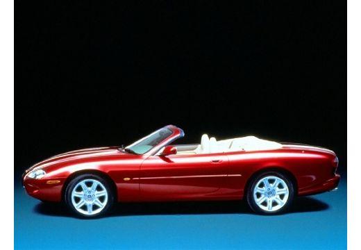 JAGUAR XK8 kabriolet czerwony jasny boczny lewy