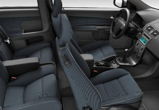 VOLVO C30 I hatchback wnętrze