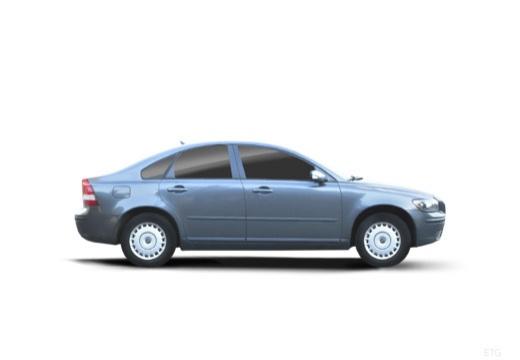 VOLVO S40 IV sedan niebieski jasny boczny prawy
