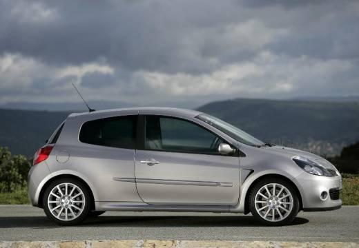 RENAULT Clio III I hatchback silver grey boczny prawy