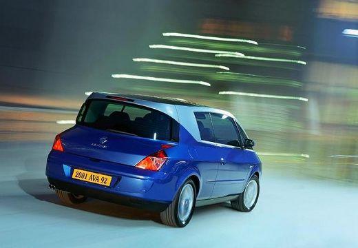 RENAULT Avantime I hatchback niebieski jasny tylny prawy