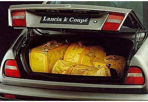 LANCIA Kappa coupe przestrzeń załadunkowa