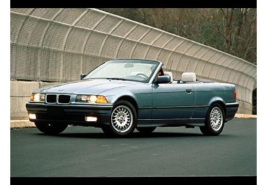BMW Seria 3 Cabriolet E36 kabriolet niebieski jasny przedni lewy
