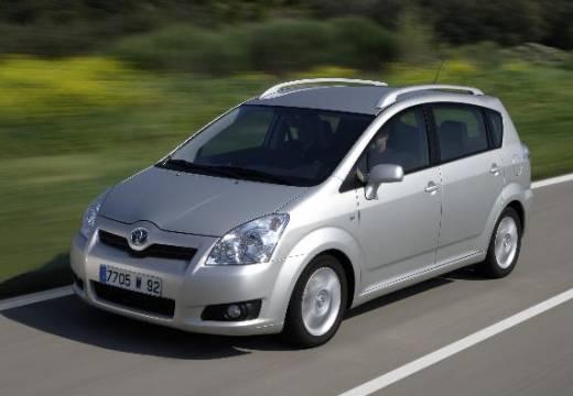Toyota Corolla Verso III kombi mpv silver grey przedni lewy