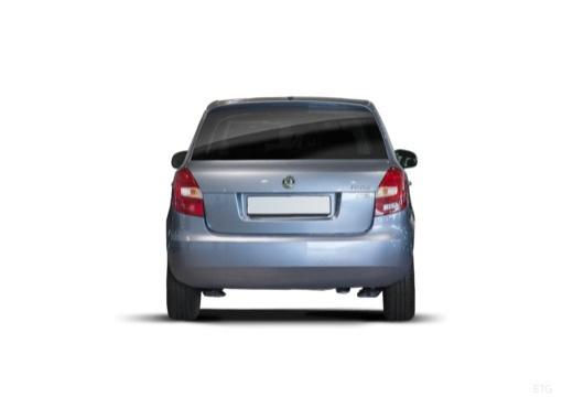 SKODA Fabia II II hatchback tylny