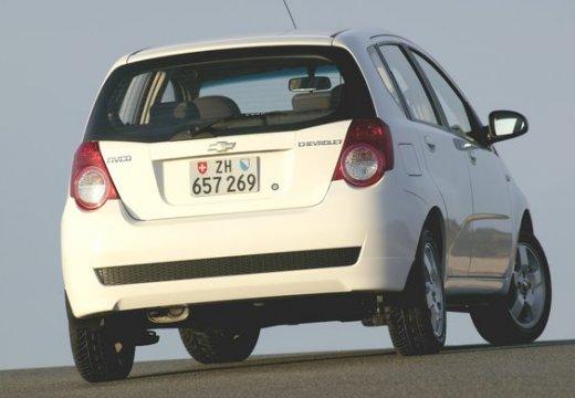 CHEVROLET Aveo II hatchback biały tylny prawy