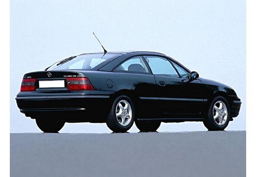 OPEL Calibra coupe niebieski jasny tylny prawy