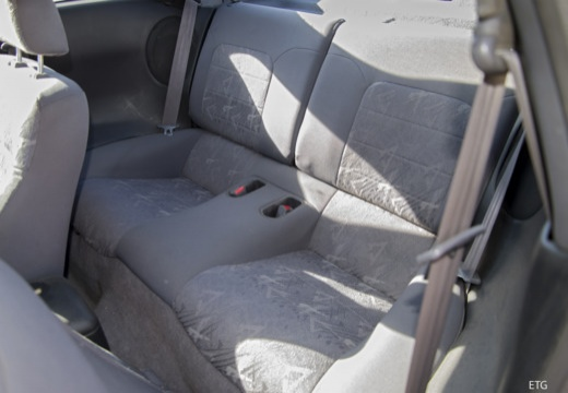 MITSUBISHI Eclipse III coupe wnętrze