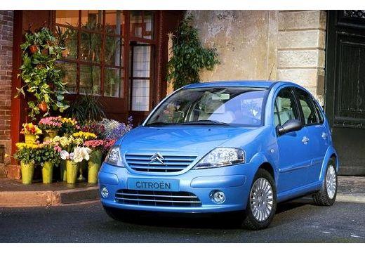 CITROEN C3 I hatchback niebieski jasny przedni lewy