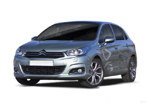 CITROEN C4 III hatchback silver grey