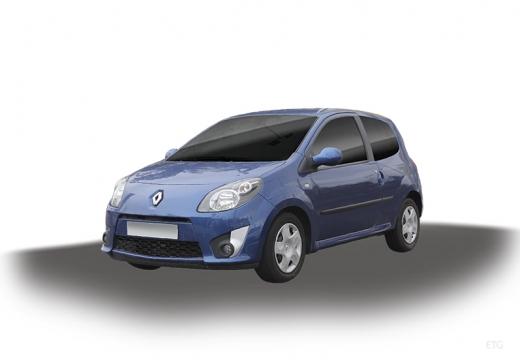 RENAULT Twingo hatchback niebieski jasny