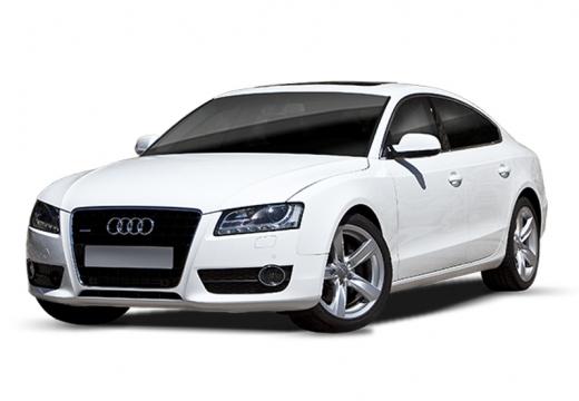 AUDI A5 hatchback biały
