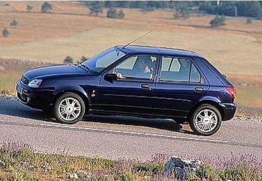 FORD Fiesta hatchback niebieski jasny boczny lewy
