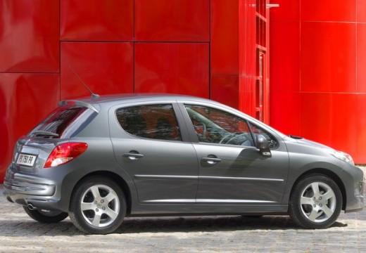PEUGEOT 207 II hatchback szary ciemny tylny prawy