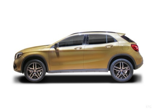 MERCEDES-BENZ Klasa GLA GLA 156 hatchback boczny lewy