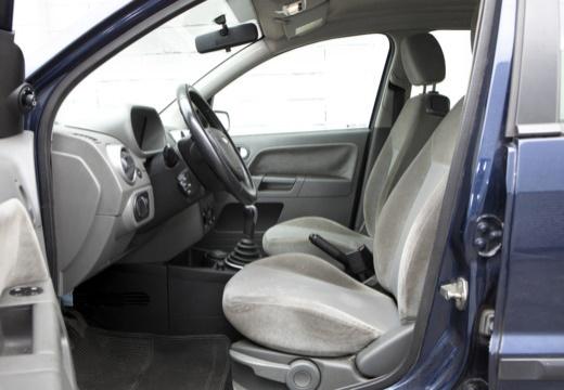 FORD Fusion I hatchback niebieski jasny wnętrze