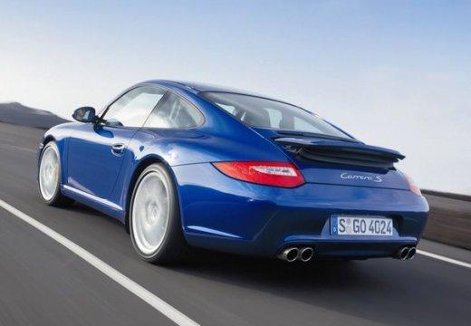 PORSCHE 911 997 coupe niebieski jasny tylny lewy