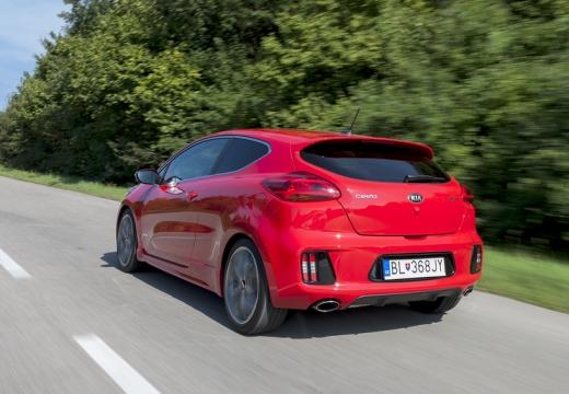KIA Ceed Proceed V hatchback czerwony jasny tylny lewy