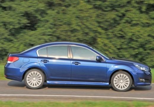 SUBARU Legacy VIII sedan niebieski jasny boczny prawy