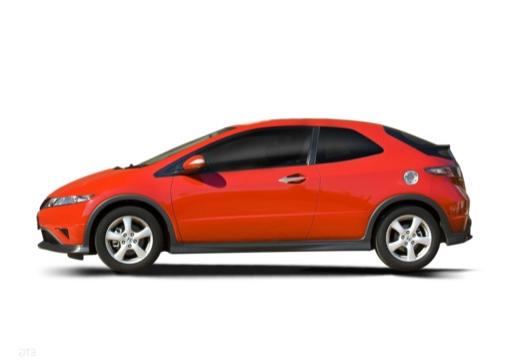 HONDA Civic VII hatchback boczny lewy