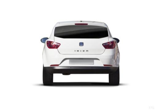 SEAT Ibiza V hatchback biały tylny