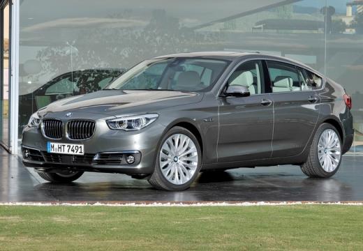 BMW Seria 5 Gran Turismo F07 II hatchback silver grey