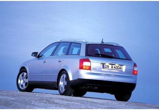 AUDI A4 Avant 8E I kombi silver grey tylny lewy