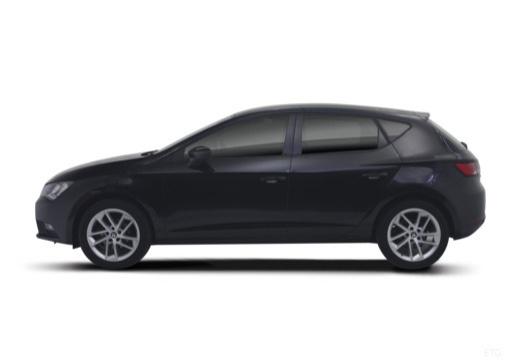 SEAT Leon IV hatchback czarny boczny lewy
