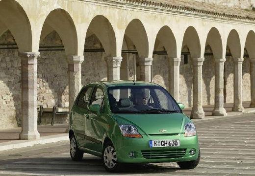 CHEVROLET Spark hatchback zielony jasny przedni prawy