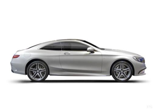 MERCEDES-BENZ Klasa S Coupe I coupe boczny prawy