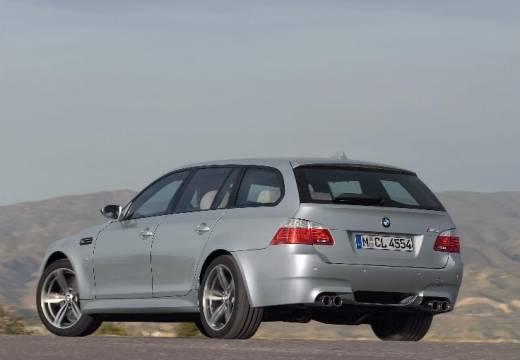 BMW Seria 5 Touring E61 II kombi silver grey tylny lewy