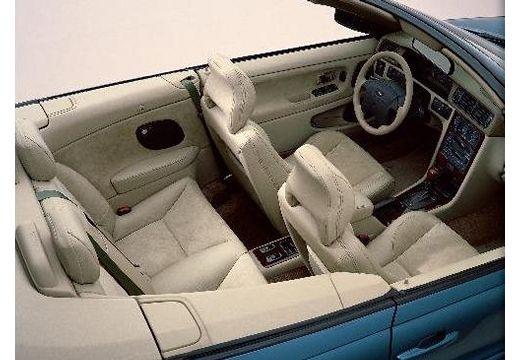 VOLVO C70 Cabrio I kabriolet wnętrze
