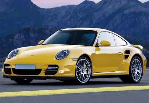 PORSCHE 911 997 coupe żółty