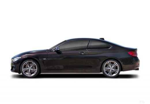 BMW Seria 4 F32 coupe boczny lewy