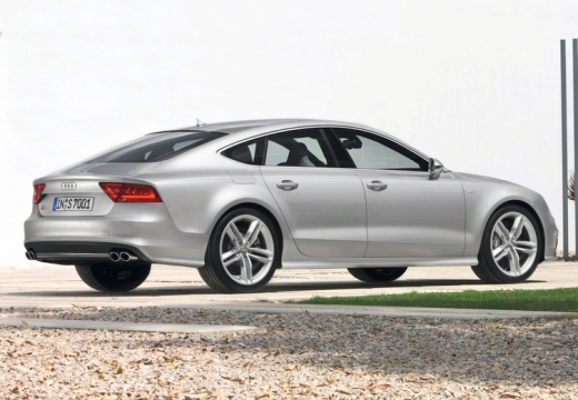 AUDI A7 Sportback I hatchback silver grey tylny prawy